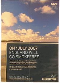 2007年イギリス禁煙ポスター