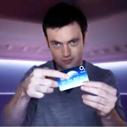 O2 card ad