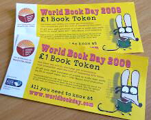 World Book Day tokens